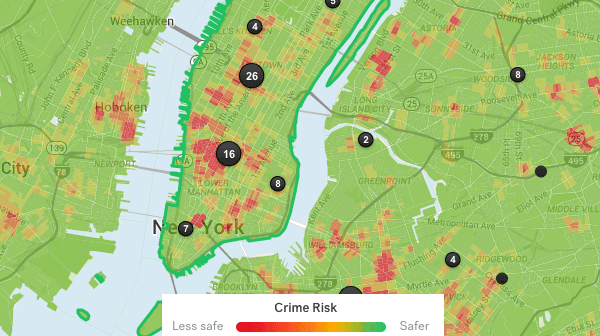 crime heat