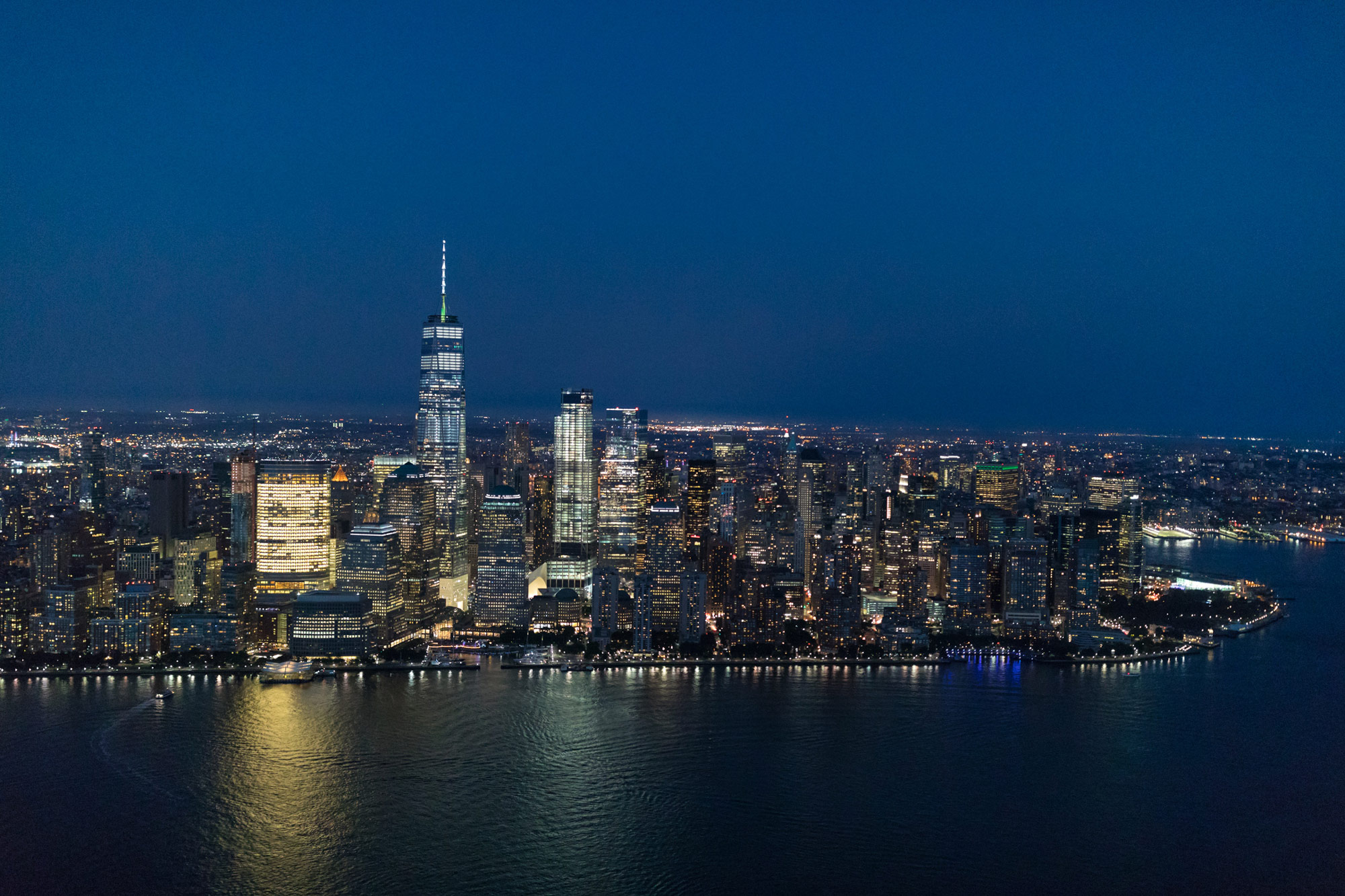 东边,曼哈顿夜景