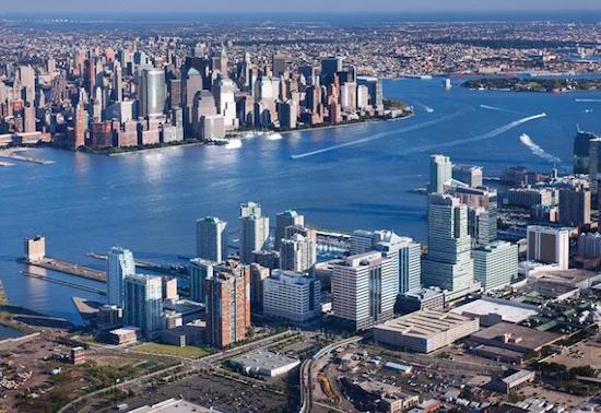 Jersey City & Manhattan